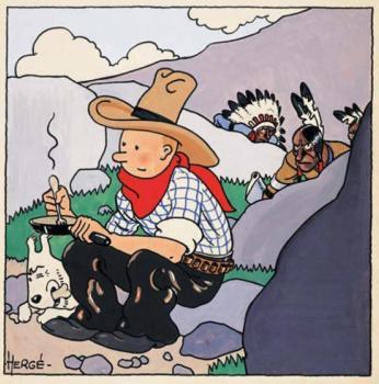 Tintin Gouache Artcurial