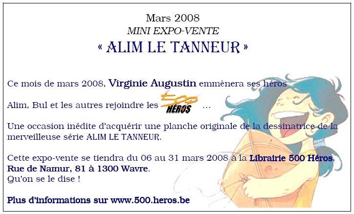 Expo Alim le Tanneur au 500 héros
