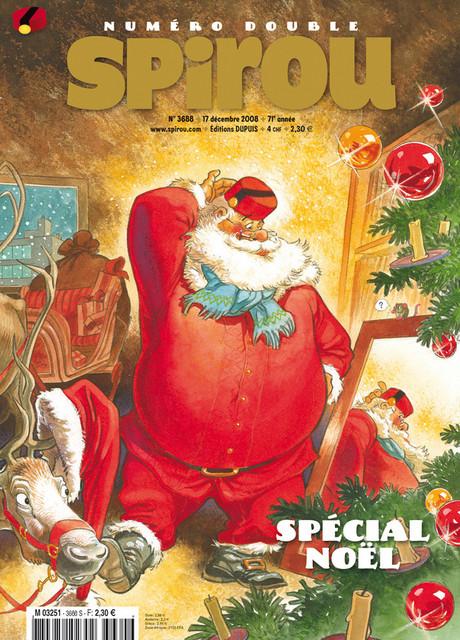 Spirou spécail Noel 2008